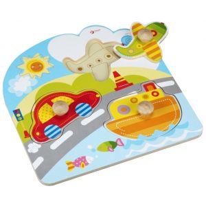 Transport Puzzle 3 Pieces