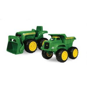 John Deere 15cm Sandpit Vehicles
