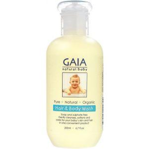 Natural Hair & Body Wash 200ml