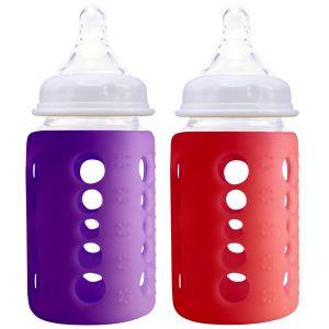 240Ml Twin Pk Red & Purple