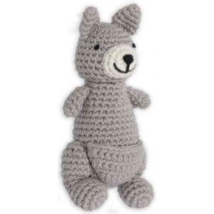 Crochet Rattle Kind Kangaroo