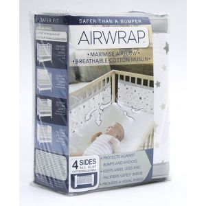 Airwrap 4 Sides Guaze Star - Silver