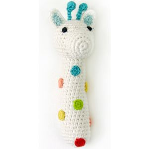 Crochet Rattle Greedy Giraffe