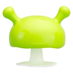 Mushroom Soothing Teether - Green