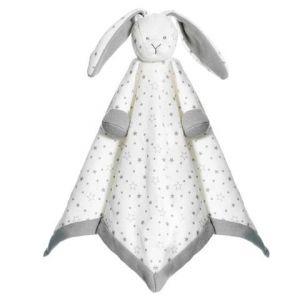 Diinglisar Organic Stars Cuddle Blanket Bunny