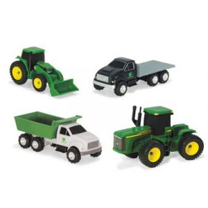4 Piece Vehicle Carded Set