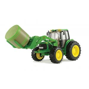 1:16 Tractor with Front Bale Mover