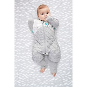 Swaddle Up Transition Suit 2.5Tog White