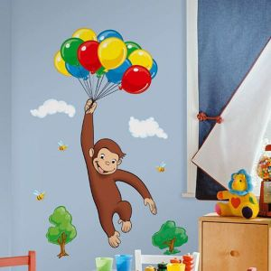 Curious George Giant Mural