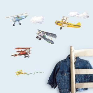 Vintage Planes Appliques