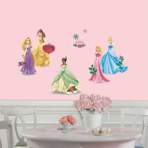 Holiday Princesses Wall Decals