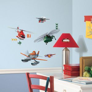 Planes Fire & Rescue Wall Decals