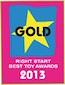 2013 Right Start Award - Gold - Sit & Ride